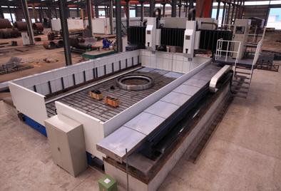 龙门移动式高速平面钻床图片